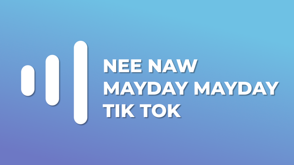 Nee Naw Mayday Mayday tik tok meme download mp3