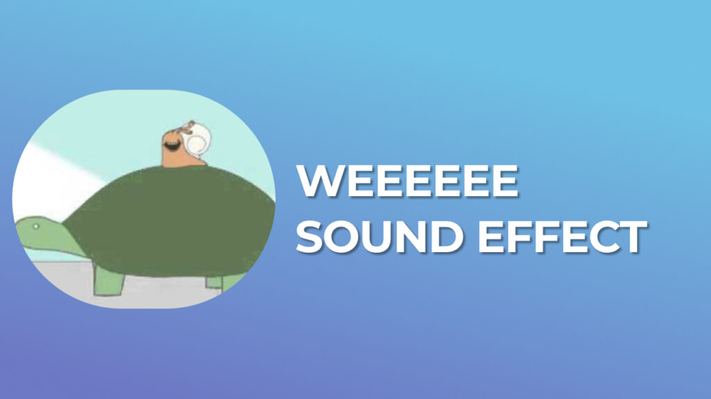 Weeeeee sound effect