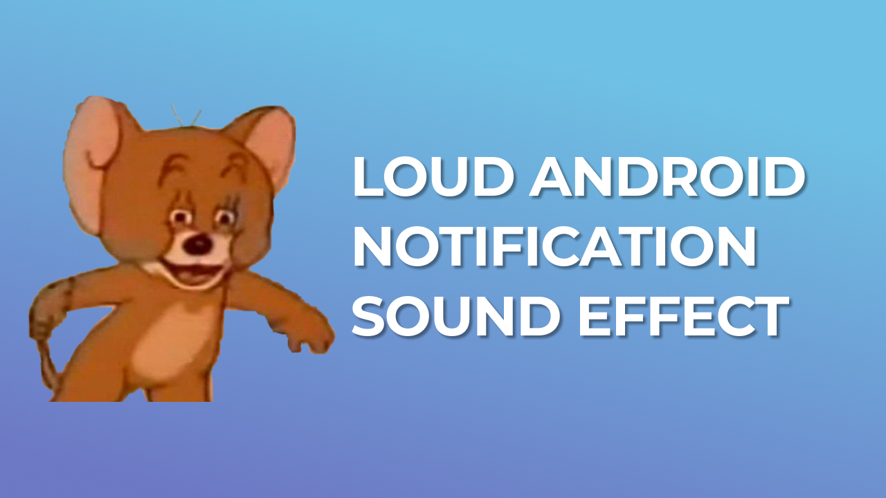 Loud Samsung Android Notification Sound Effect Free Mp3 Download