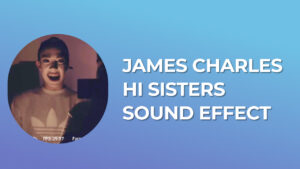 James Charles Hi Sisters Sound Effect download for free mp3