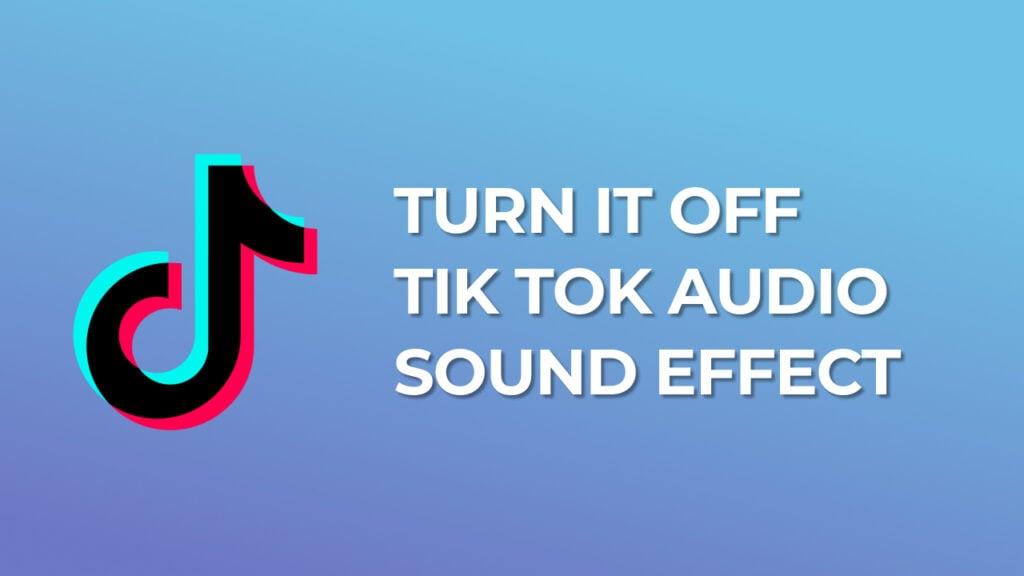 Turn it off Tik Tok Audio Sound Effect download mp3