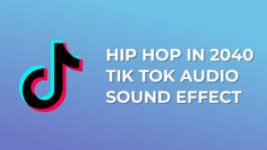 Hip Hop In 2040 Tik Tok Audio Sound Effect download mp3
